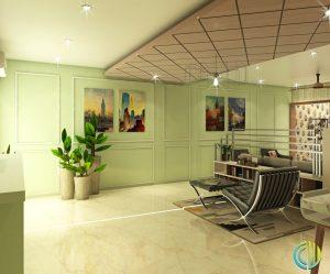 Interior for living area